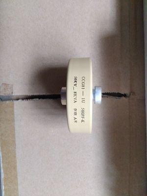 500pF 10KV 8K Watt Ceramic Door Knob HV High Voltage Ceramic Capacitor #J629 lx