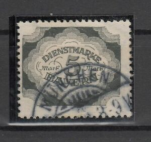 X2320-GERMANY-BAVARIA-OFICIAL-MI-D61-USED-CV-165