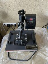 5 In 1 Heat Press Machine Digital Swing Away Sublimation T Shirt Mug 12x10
