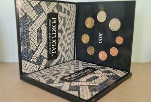 Coffret BU Euros Portugal 2010 - 8 pièces 1 centime à 2 Euros