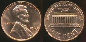 United-States-1963-One-Cent-Lincoln-Memorial-Proof
