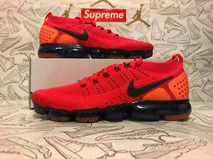 6804a545a9cdd New 100% Authentic Nike Air Vapormax 2 Red Orbit Blue AR5406-600 SZ ...