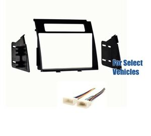Double Din Car Stereo Radio Dash Wire Harness Kit Combo ...