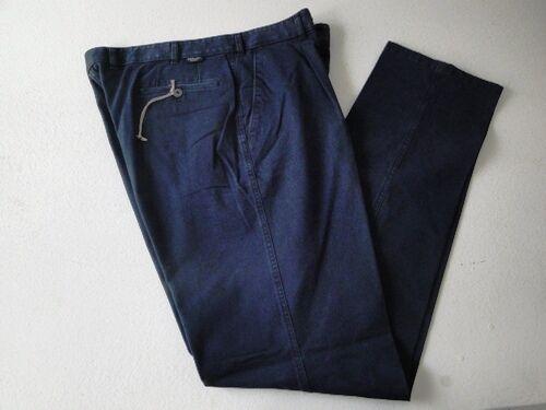 Hiltl Blau´s Jeans Chinos Hose Freizeithose Dunkelblau Uni Gr. 94 NEU