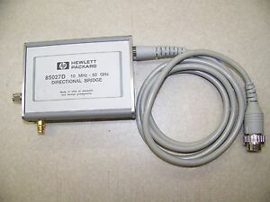 Agilent HP 85027D 50 GHz  Directional Bridge repair evaluation
