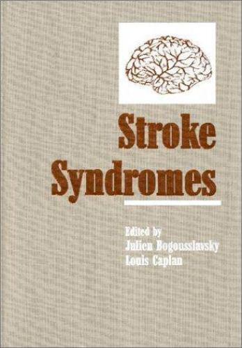 Stroke Syndromes by Bogousslavsky, Julien; Caplan, Louis; Barnett, Henry Book