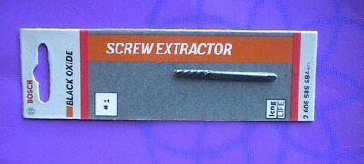 BOSCH SCREW EXTRACTOR NO.1,#1,BLACK OXIDE 2608585584,BOSCH HIGH QUALITY