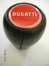 GEAR SHIFT KNOB LEATHER BUGATTI