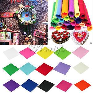 Polyester-Craft-Felt-Fabric-Handicraft-Scrapbooking-1mm-thick-30cm-x-30cm-DIY