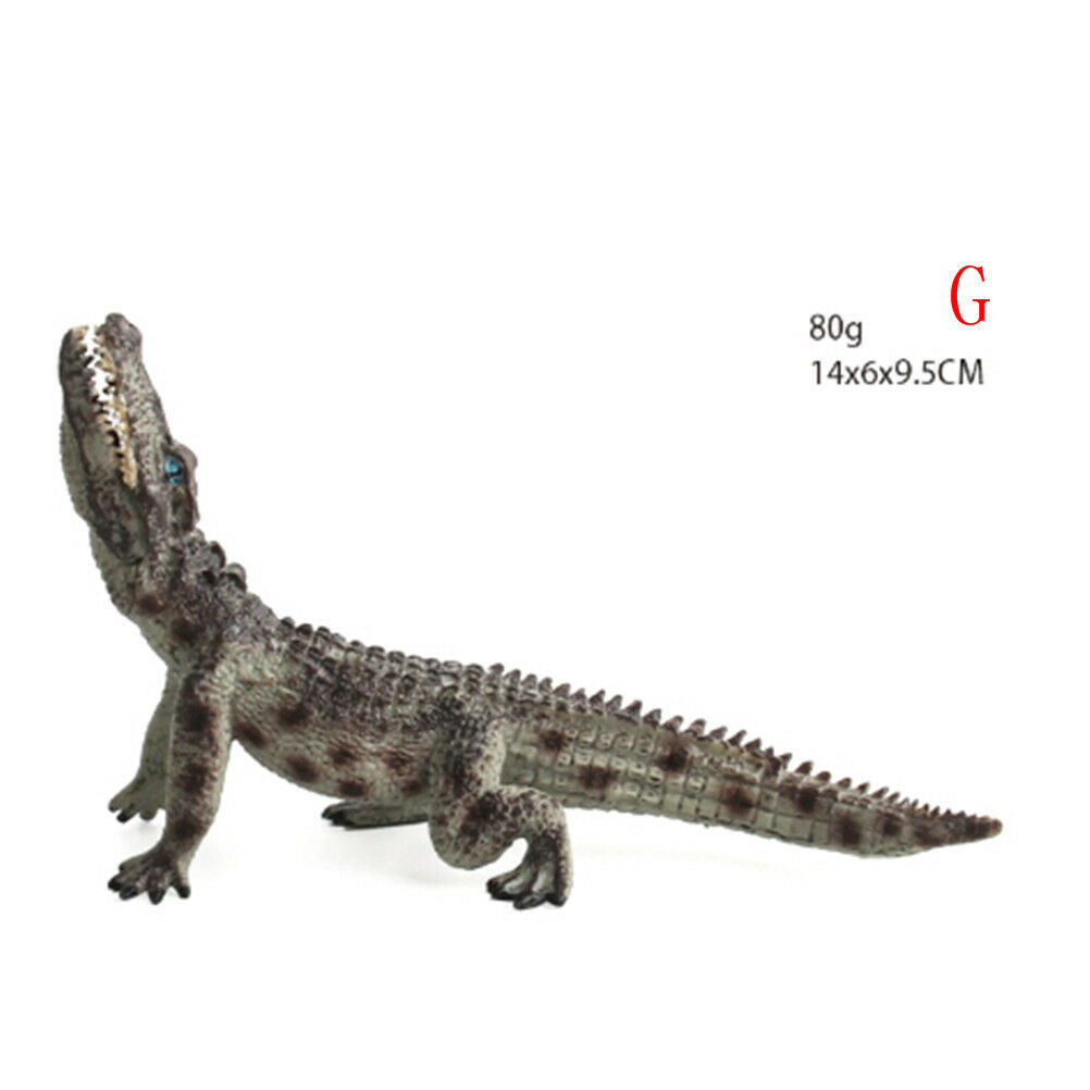Crocodile Simulation Animal Model Action & Toy Figures Collection Kids Kids Collection Gift 0cn 7edadf