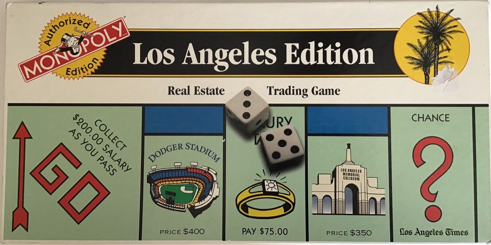 Monopoly  Los Angeles Edition  Authorized Edition - Real Estate Trading Game