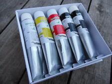 Oil Paints, Lot of 5 Colors of  X-Large 170ml Tubes, Professional Artist Pigment