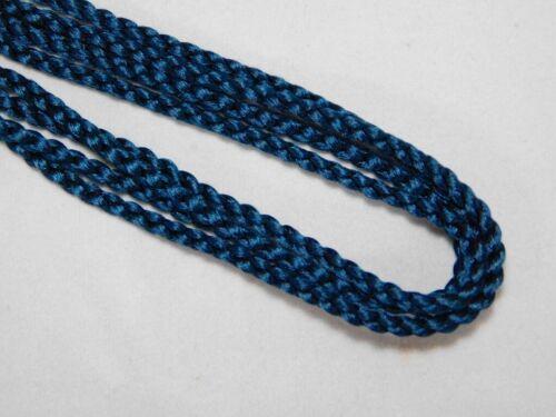 Netsuke Indigo blue Inro Himo Silk Cord for Japanese Antique inro Ojime