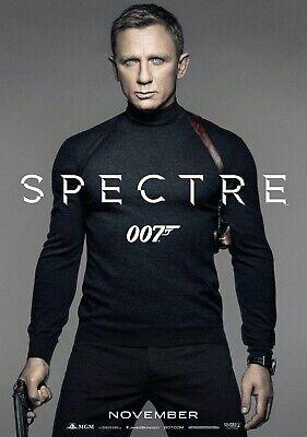 JAMES BOND; SPECTRE Movie PHOTO Print POSTER Film Art 007 Daniel Craig 004