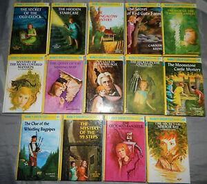 14-nancy-drew-chapter-books-1-2-3-6-9-18-19-20-21-40-41-43-46-49-mysteries-lot