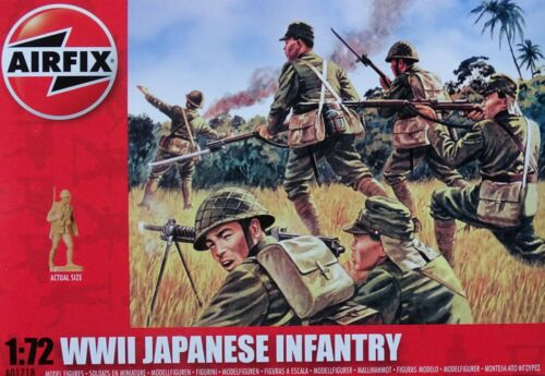 AIRFIX® A01718 WWII Japanese Army Figuren in 1:72