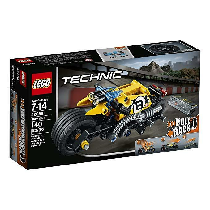 "LEGO Technic (42058) ""Pullback"" Stunt Bike (Brand New & Factory Sealed)"