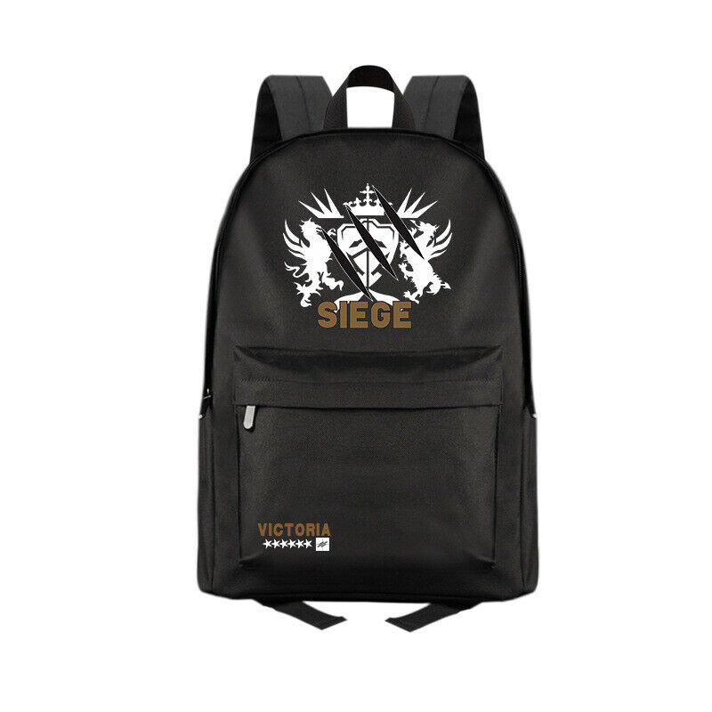 Anime Arknights Siege Casual Fashion Backpack Shoulders Bag Schoolbag #M06