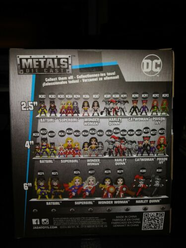"""DC Comics Metals Diecast 4/"""" Harley Quinn #367 Chaser Chase Pewter Jada Toys"""