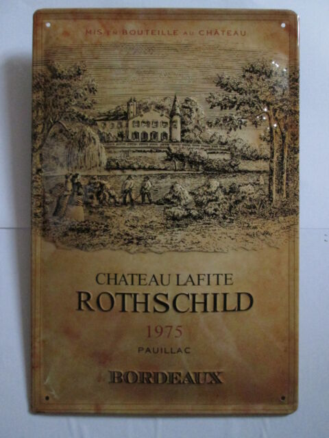 BORDEAUX ROTHSCHILD WEIN, Chateau Lafite, Vin de FRANCE, BLECHSCHILD