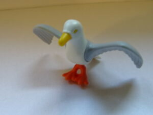 MOUETTE-AILES-DEPLOYEES-PLAYMOBIL-ANIMAUX-ANIMAL-SAUVAGES-SAVANE-FORET-OISEAUX