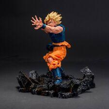 Dragonball 18*16*5CM Battle Resin Base For Goku Kamehameha Vegeta Gohan Statue