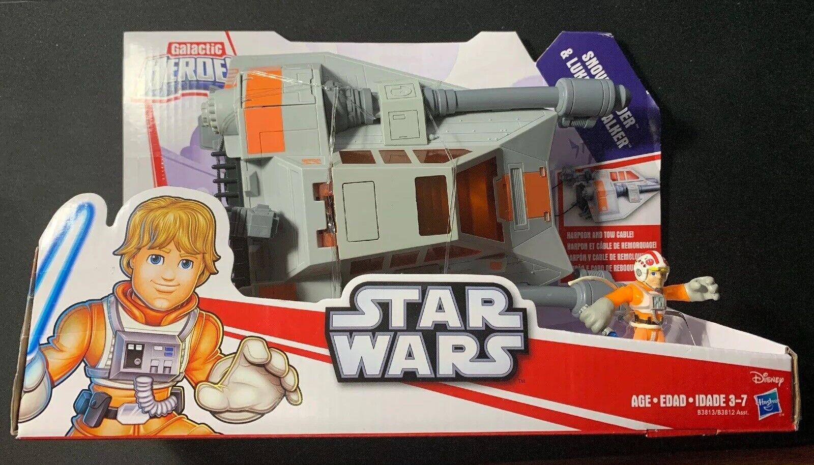 Star Wars Galactic Heroes Snowspeeder & Luke Skywalker