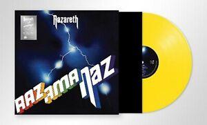 Nazareth-Razamanaz-New-Yellow-Vinyl-LP