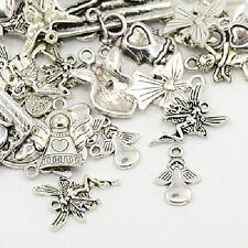 30g x Tibetan Silver Charms / Pendants ~ ANGELS/FAIRIES ~ Mixed ~ Antique Silver