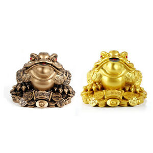 5-5-4-8cm-Money-Lucky-Fortune-Ching-Frog-Toad-Coin-Home-Tabletop-Feng-Shui-Decor