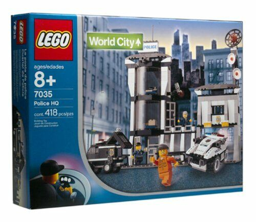 Lego Town World City 7035 Police HQ  Nuovo Sealed