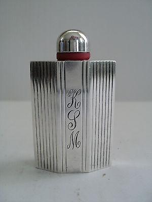 Schön Vintage Scent / Parfüm Flasche Mit Sterlingsilber Dekoration Geeignet FüR MäNner, Frauen Und Kinder