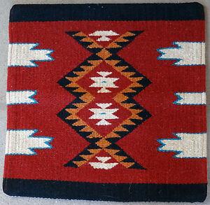 Aztec Pillow Cover HAPCAzt-Q Hand Woven Acrylic Southwest Southwestern 18X18