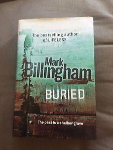 2006-1ST-EDITION-034-BURIED-034-MARK-BILLINGHAM-FICTION-HARDBACK-BOOK