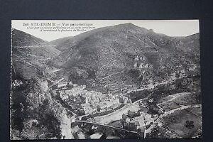 Postcard-Antique-CPA-Sainte-enimie-View-Panoramic