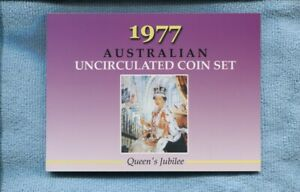 1977 Mint Coin Set Uncirculated UNC Sherwood Australia