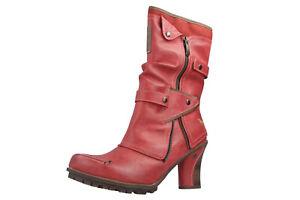 Mustang Shoes Sneaker dans Grandes Tailles Grandes Chaussures femmes rouge XXL