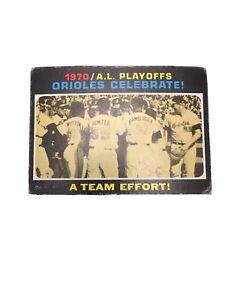 1971-Topps-AL-Playoffs-198-Baltimore-Orioles-Celebrate
