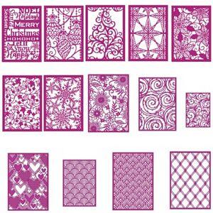 Christmas-Lace-Pattern-Frame-Metal-Cutting-Die-DIY-Album-Stencil-Embossing-Craft