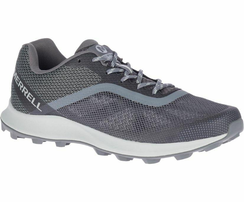 MM39 New Merrell MTL Skyfire Mountain Trail Running Shoes Men 9 Charcoal Reg 100