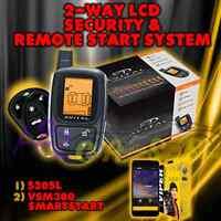 Avital 5305 Replaces 5303 2 Way Remote Start Car Alarm Security 5305l + Vsm300