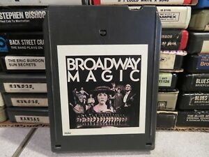BROADWAY MAGIC Best of The Great Broadways Musicals (8-Track Tape)
