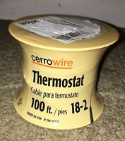 Cerrowire 100 Ft. 18-2 Thermostat Wire 210-1002cr