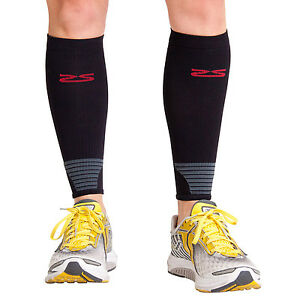 f8da2abbe3 Image is loading Zensah-Ultra-Compression-Leg-Calf-Sleeves-PAIR