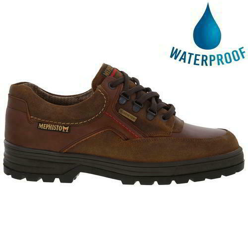 Mephisto Barracuda Gore Mens Leather Waterproof GTX Walking Shoes Size 8-13