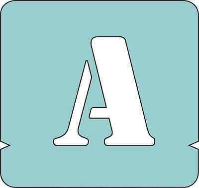 Buchstaben groß Größe: 100 mm Signierschablonen A-Z