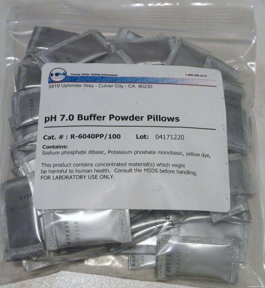 (  1stk) HM Digital ph solution tampon sachet ph 10,01 individuellement 100 pièce