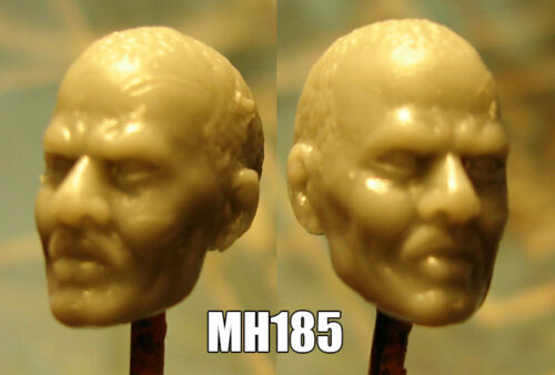 "MH185 Custom Cast head use w//3.75/"" Star Wars GI Joe Acid Rain action figures"
