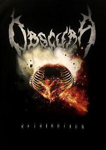 OBSCURA-cd-cvr-RETRIBUTION-Official-LONG-SLEEVE-SHIRT-MED-New-death-metal
