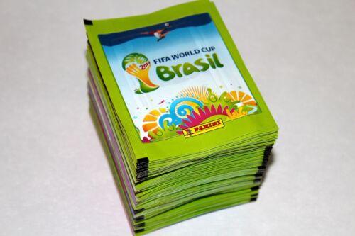 PANINI Fifa WC WM BRASIL 2014 14 MINT! 100 cartocci packets BUSTINE sobres